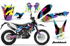 AMR RACING KTM GRAPHIC KIT STICKER DEKOR 690 SM/ENDURO BIKE PART 08-11 FLASHBACK