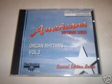 Technics KN Kyb Software Americana Organ Rhythms Vol. 3