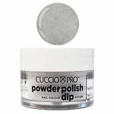 Cuccio Pro Powder Polish Acrylic Dipping Powder - Silver W Silver Mica 14g/45g