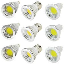MR16 GU10 E27 E14 6W 9W 12W LED Spotlight COB High Power Bulb Lights Lamp White
