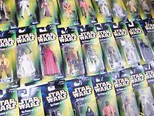 "Star Wars Vert POTF 2 ""Hologramme"" cardées figures-ALL MOC-voir photos!"