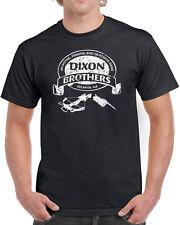 253 Dixon Brothers mens T-shirt zombie killer tv show dead undead daryl