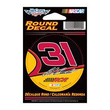"Jeff Burton 2012 Wincraft #31 RCR Round Decal 3"" FREE SHIP!"