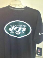 Auténtico Nike Dri-Fit NFL Ny Chorros Camiseta Negra 742992-010 ab239420bbfdd