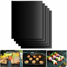 1/2/5pcs BBQ Grill Mat Non-Stick Bake Grilling Mats Barbecue Pad Teflon Fiber
