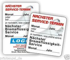 KFZ Inspektionsaufkleber Serviceaufkleber Service Aufkleber  Nächster Termin 1-1