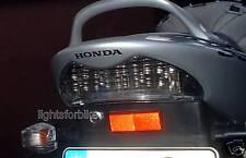 Vetro Chiaro LED LAMPADA POSTERIORE FANALE RETROVISORE BIANCO HONDA CBR 600 F pc35 f4 CLEAR TAIL LIGHT