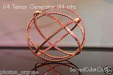 Tensor Campo Energía Orgón Generador 144 MHZ Completo,1/2,1/4/1/8 Sacred Cubit