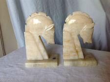Marble Horse Head Bookends - Hecho en Mexico