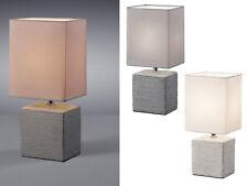 Stoffleuchten eckig für den Nachttisch moderne Wohnzimmerlampen Nachtischlampen