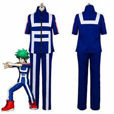 My Boku no Hero Academia Izuku Midoriya Cosplay Costume Training Suit Outfit