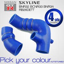 Skyline Silicone Turbo Kit Hose R32 R33 R34 RB26DETT Car Induction