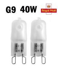 2 / 5 / 10 x G9 Halogen Licht Lampen Kapsel 240V 40W Watt Frosted Dimmbar