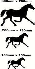 Caballo Decal Sticker, Pared, Puerta, Espejo, Coche, Furgoneta, Caja De Caballo, amante de los caballos Reino Unido