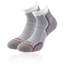1000 Mile Mens Run Anklet Running Socks Grey Sports Breathable Lightweight