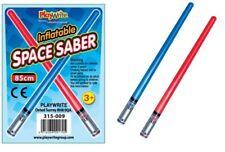 85cm LIGHT gonfiabile sciabola SPAZIO Star Saber SPADA Jedi Guerre! Blu rosso o entrambi