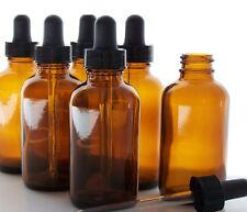 Amber Glass 30ml Liquid Reagent Pipette Bottle Eye Dropper Drop Aromatherapy