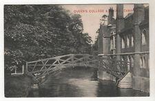 Queen's College - Cambridge Photo Postcard 1907