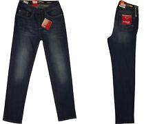 Stooker Damen Stretch Jeans Hose  - Zermatt - SLIM FIT -  Blue Denim Used -