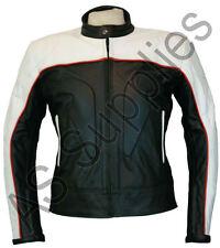 """""""Vulcano"""" Nuevo Cuero Biker moto chaqueta-blindado-Todas las Tallas!"""