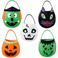 Halloween Tasche Süsses Saures Betteltasche Hexe Gespenst Katze Monster Kürbis