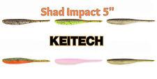 "KEITECH Shad Impact/Live Impact 5"" Pintail-Shad 12,5 cm Barsch-Zander"