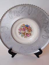 Vintage Triumph Limoges Imperial Victorian China Platter Farberware Aluminum