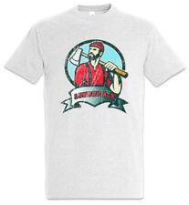 Lumberjack IV T-Shirt Holzfäller Holz machen Waldarbeiter Kettensäge Axt