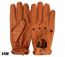 Men's slim gants de conduite chauffeur cuir d'agneau Robe Fashion Classique