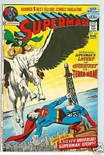 Superman #249 March 1972 FN 1st Terra-Man Neal Adams