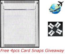 40 Stitch Blank Punch Card For PASSAP Knitting Machine W/ 4pcs Free Card Snaps