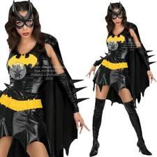 Womens Batgirl Licensed Fancy Dress Costume - Ladies DC Superhero Outfit Rubies