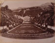 MONACO. MONTE-CARLO. 11 PHOTOGRAPHIES. VERS 1890. LA TURBIE. MENTON. VINTIMILLE.