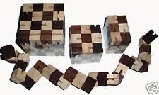 Shapeshifter 18 wood brain teaser puzzle -Fidget blocks