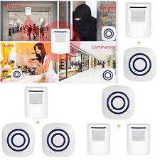 Wireless Motion Sensor Detector Alarm Infrared Home Security Alert Doorbell SA