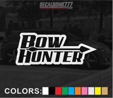 Bowhunter Arrow Outline Decal Sticker Turbo Truck Hunt Bow Target  Mud UTV rzr