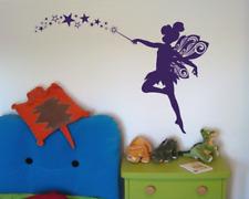 Wandtattoo Fee Sterne Kinderzimmer Wandaufkleber XXXL  25 Farben 8 Größen