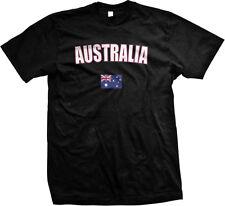 Australia Country Pride Land Down Under Outback Desert Mens T-shirt