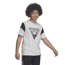 Adidas Kids Young Boys Tshirt Predator Tee Football Fashion Lifestyle New DV1336