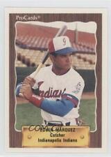 1990 ProCards Minor League #301 Edwin Marquez Indianapolis Indians Baseball Card