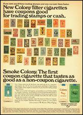 1966 vintage cigarette ad for Colony Coupon Cigarette  -031912