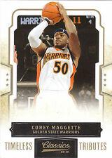 2009/10 Panini Classics Timeless Tributes Corey Maggette Duke Warriors 11/50