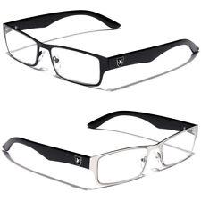 Rectangular Reading Glasses for Men Women Fashion Readers Sporty Design 2.0 2.5