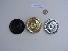 REGENCY CURTAIN HOLDBACKS - brass, chrome, black,  for lounge, dining, bedroom