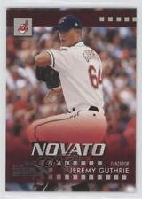 2003 Donruss Estrellas #25 Jeremy Guthrie Cleveland Indians Baseball Card