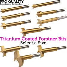Bits de Titanio Recubiertos Forstner PRO – – Serrucho de fondo plano/Núcleo Perforación Cortador