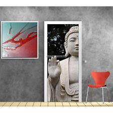 Stickers porte déco Bouddha réf 616 616