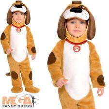 Playful Puppy Baby Boys Fancy Dress Animal Dog Pet Toddler Infants Costume New