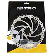 1 or 2 Tektro Wavy 6 Bolt Disc Brake Bike Rotor 160/180/203mm Road CX Mountain