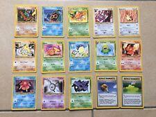 POKEMON TRADING CARD GAME CARTE SET NEO REVELATION UNLIMITED ITA ITALIA WIZARDS